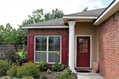 Breaux Bridge Single Family Home For Sale: 1029 Bridgetowne Lane