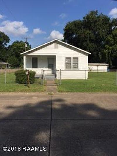 Lafayette Single Family Home For Sale: 801 N Bienville Street