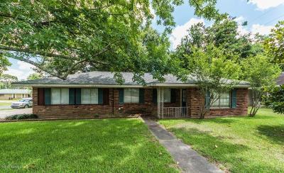 Lafayette Single Family Home For Sale: 119 Gordon Crockett Drive