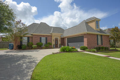 Lafayette Single Family Home For Sale: 307 Moss Brook Drive