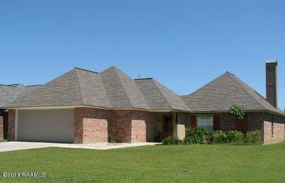 Breaux Bridge Single Family Home For Sale: 1115 Jules Broussard Road