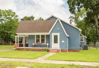 Jennings Single Family Home For Sale: 718 Third Street