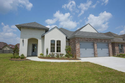 Single Family Home For Sale: 407 Easy Rock Landing Drive