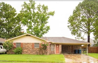 Lafayette Single Family Home For Sale: 206 Eula Drive