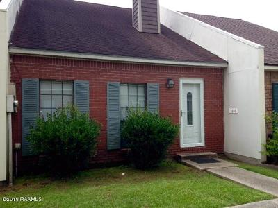 Lafayette Single Family Home For Sale: 103 Williamsburg Circle #C