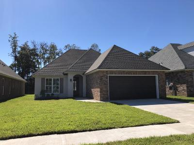 Carencro Single Family Home For Sale: 123 Luxford Way