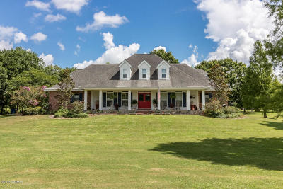 St Martinville, Breaux Bridge, Abbeville Single Family Home For Sale: 10218 Brousell Drive