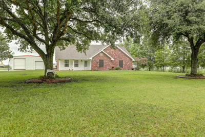 St. Martinville Single Family Home For Sale: 1087-B Papit Guidry Road