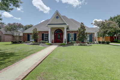 New Iberia Single Family Home For Sale: 615 Terrell Court