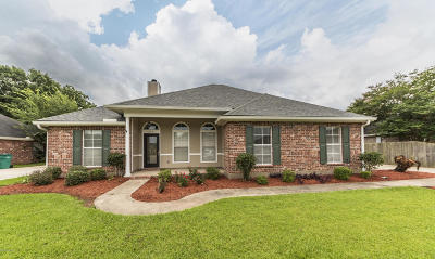 Broussard Single Family Home For Sale: 216 Stags Leap Lane