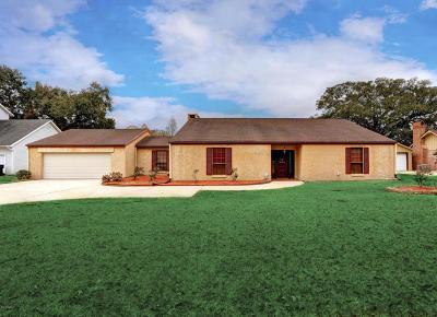 New Iberia Single Family Home For Sale: 3932 Bayou Boulevard