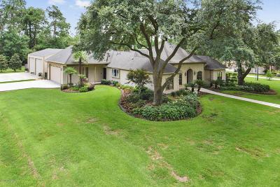 Lafayette Single Family Home For Sale: 100 W Shamrock Drive