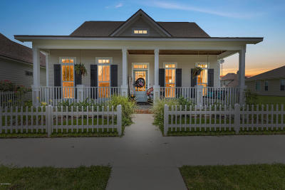 Breaux Bridge Single Family Home For Sale: 335 Kingston Gardens