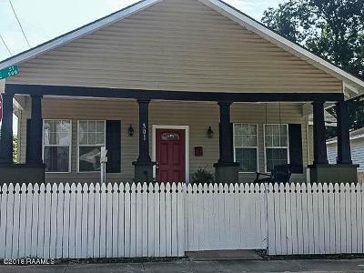 Lafayette Single Family Home For Sale: 501 Lafayette Street