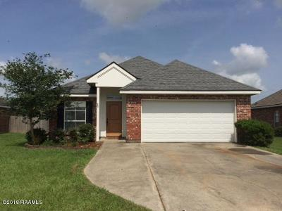 Youngsville Single Family Home For Sale: 453 Chemin Metairie Street