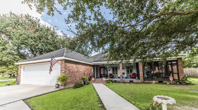 New Iberia Single Family Home For Sale: 1608 Parkwood Drive