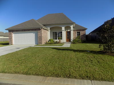 Broussard Single Family Home For Sale: 217 Gentle Island Drive