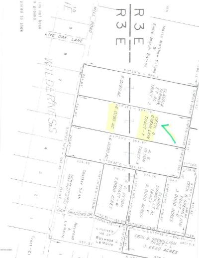 Vermilion Parish Residential Lots & Land For Sale: Old Sugar Mill Road