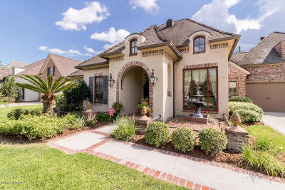 Lafayette Single Family Home For Sale: 206 Flagstone Court