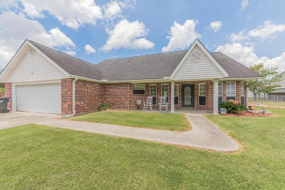 New Iberia Single Family Home Active/Contingent: 2711 Blue Haven Drive