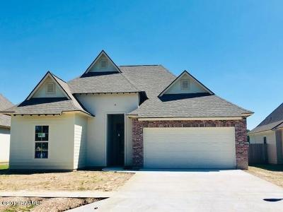 Broussard Single Family Home For Sale: 108 Tennyson Drive