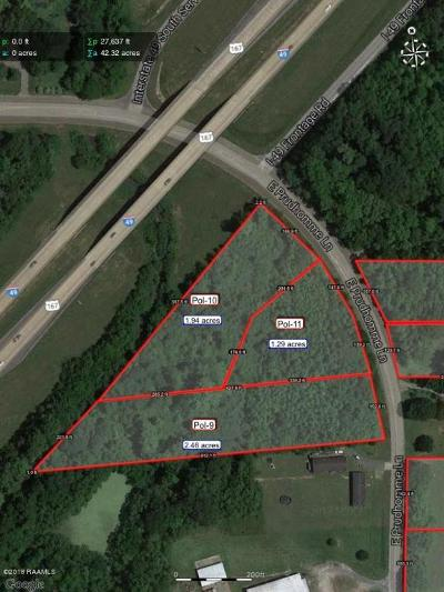 St Martinville, Breaux Bridge, Opelousas Residential Lots & Land For Sale: 1586 E East Prudhomme Lane