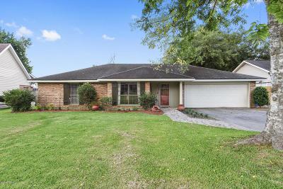 Lafayette Single Family Home For Sale: 314 Bellevue Plantation Road