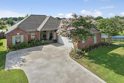 Youngsville Single Family Home For Sale: 205 Meadow Lake Drive
