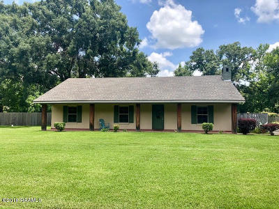 Carencro Single Family Home For Sale: 1500 N Wilderness Trail
