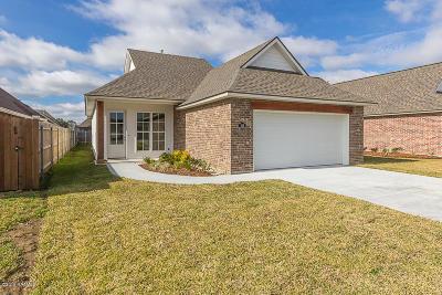 Lafayette Single Family Home For Sale: 109 Anatole Drive
