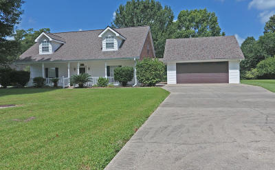 New Iberia Single Family Home For Sale: 501 Jacqueline Drive