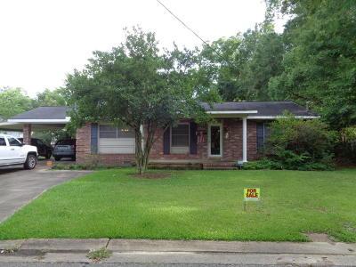Ville Platte Single Family Home For Sale: 308 W Wilson Street