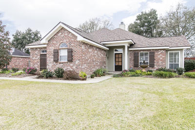 Broussard Single Family Home For Sale: 104 Deer Meadow Boulevard