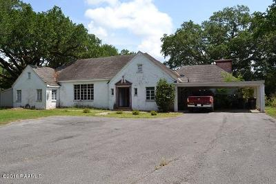 Jeanerette Single Family Home For Sale: 3006 Main Street