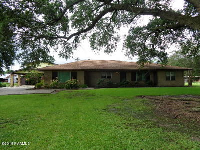 New Iberia Single Family Home For Sale: 4616 Hwy 14