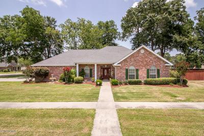 Breaux Bridge Single Family Home For Sale: 1002 Woodridge Drive Drive
