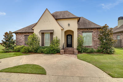 broussard Single Family Home For Sale: 1112 Le Triomphe Parkway