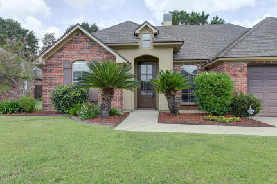 Broussard Single Family Home For Sale: 222 Barksdale Drive
