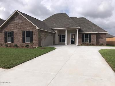 broussard Single Family Home For Sale: 106 Bowen Lane