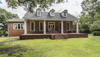 Jeanerette Single Family Home For Sale: 6509 E Old Spanish Trail