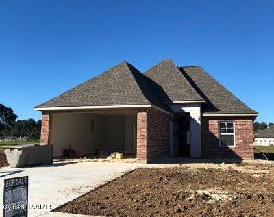 Carencro Single Family Home For Sale: 204 Luxford Way