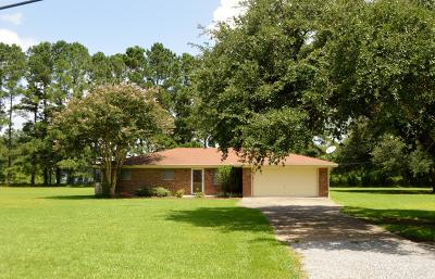 St. Martinville Single Family Home For Sale: 1547 Loreauville Hwy Street