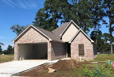 Carencro Single Family Home For Sale: 138 Luxford Way