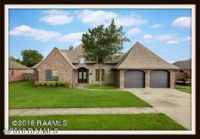 Scott Single Family Home For Sale: 103 Pavie Lane