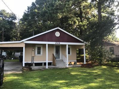 Eunice Single Family Home For Sale: 248 Murphy Richard Loop