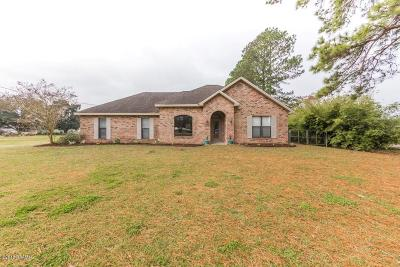 St. Martinville Single Family Home For Sale: 7704 Main Hwy