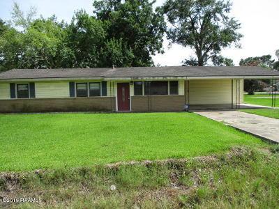 Iberia Parish Single Family Home For Sale: 209 Creighton Broussard Road