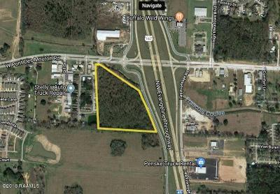 Lafayette Residential Lots & Land For Sale: I-49 @ W. Pont Des Mouton Road