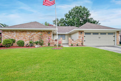 Lafayette Single Family Home For Sale: 203 Orgeron Drive