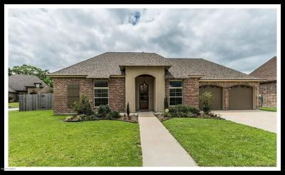 broussard Single Family Home For Sale: 215 Masters Drive